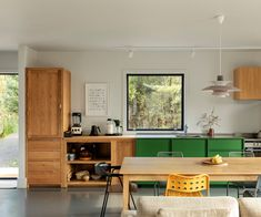 How this homeowner achieved his dream rural retreat on a small budget Painted Plywood Floors, Laminate Flooring, Aluminium Joinery, Shiplap Cladding, Suburban House, Rural Retreats, Big Design, House And Home Magazine, Greenwich Village