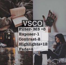 vsco - ideias de filter para fotos