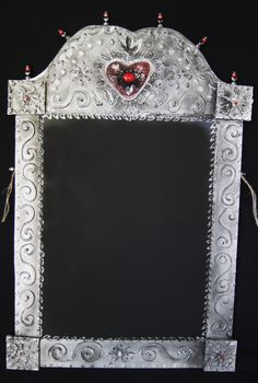 Chalkboard,Chalkboard,Chalkboard ~~Mexican Heart Chalkboard--- Lightweight Great for the Kitchen--- Punch up your Mexican Decor--- Art and Function.