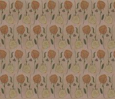 alice's wallpaper fabric by carrie-anne's_designs on Spoonflower - custom fabric Wall Fabric, Flourish, Carrie, Custom Fabric, Spoonflower, Alice, Textiles, Crafty, Quilts