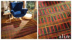 My Crochet Dream Crochet Home, Crochet Motif, New Carpet, Rugs On Carpet, Diy Tapis, Knit Rug, Farm Crafts, Manta Crochet, Curtain Designs