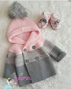 Baby clothes should be selected according to what? How to wash baby clothes? What should be considered when choosing baby clothes in shopping? Baby clothes should be selected according to … Baby Sweater Patterns, Baby Cardigan Knitting Pattern, Knit Baby Sweaters, Knitted Baby Clothes, Girls Sweaters, Baby Knitting Patterns, Baby Patterns, Baby Coat, Knitting For Kids