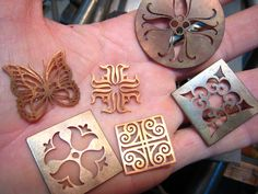 I like doing these for fun.  They keep my hands busy.  Havent done any recently.  Ive been getting a lot of custom work.  Hand sawed copper plates.