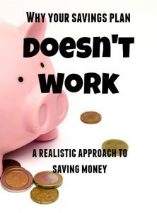 Do you start a savings plan only to become discouraged after a few weeks and give up? You are not alone, and here is why. http://www.fashionablyfrugal.net