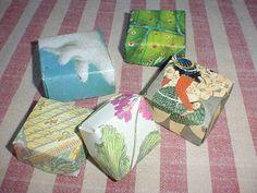 Katydid and Kid: Handmade Holiday: Origami Christmas Card Box.   Looks like a lovely way to use Christmas cards rather than throw them away.