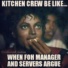 Working In A Kitchen Memes