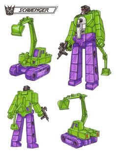 Scavenger from Transformers: The Ark.