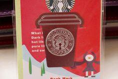 Want this!   Starbucks Bookmark Filofax Kikki.k Erin Concern Planner supplies decoration scrapbook DIY on Etsy, $1.99