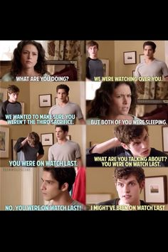 Teen wolf - Loved this part!! Sleepy Wolves this was hilarious!