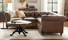 This is a fabulous version of the iconic Chesterfield sofa, and of the Kensington sofa from RH. This is not an RH sofa, The tufted sofa will combine style and comfort in your living room or family room.