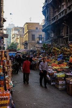 Cairo City Life by cliff.hellis, via Flickr
