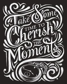 Hand Lettering by Thomas Pena, via Behance