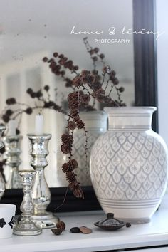 Tine K Home: Beautiful grey vase