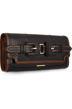 Burberry Shoes & Accessories | Buckled leather clutch $1295