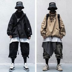 Mode Cyberpunk, Cyberpunk Clothes, Cyberpunk Fashion, Pantalon Streetwear, Mode Streetwear, Streetwear Fashion, Urban Fashion, Boy Fashion, Fashion Outfits