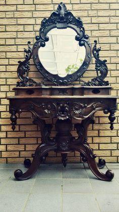 schminktisch wei schminktische m belideen vintage dressng tables pinterest vintage. Black Bedroom Furniture Sets. Home Design Ideas