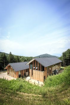 CeongTae Mountain Information Center in Hoengseong by Namu Architects