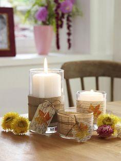Windlichter sind wie geschaffen für romantische Abende zu Hause. Das warme Kerzenlicht verwandelt jeden Raum sofort in eine gemütliche