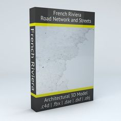 French Riviera Road Network and Streets | 3D model