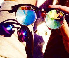 H0les X model prismatic glasses