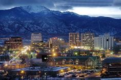 Colorado Springs, Colorado. One of the most beautiful place I was fortunate enough to call home for awhile.