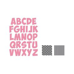 COLLECTABLES Wykrojnik + stemple Marianne Design - ALFABET - Artimeno