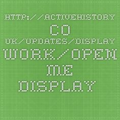 """""""Open Me"""" Display Pieces http://activehistory.co.uk/updates/display-work/open-me-display-pieces/"""