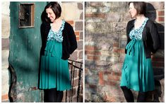 versus: Empire Waist Dress Tutorial with Guest Lindsay of The Cottage Home