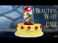 Beauty and the Beast Cake Tutorial - Sprinkle Some Fun