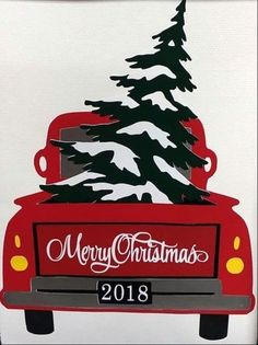 Country Christmas red pick up truck art images de noel Noel Christmas, Rustic Christmas, Christmas Projects, Holiday Crafts, Vintage Christmas, Christmas Ornaments, Christmas Red Truck, Country Christmas Crafts, Christmas Ideas