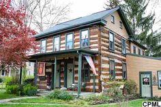 Pennsylvania 1830 Log Home - exterior
