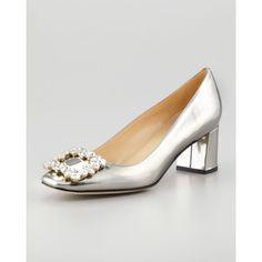 Women's kate spade new york dandy specchio low-heel pump, pe...