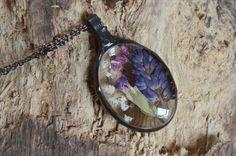 wonderful terrarium necklacespring meadow in love by ZokaKurylov