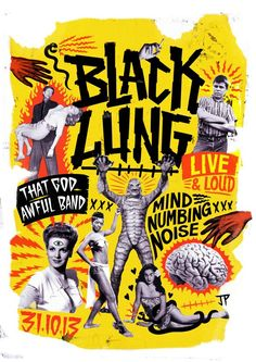 Black Lung by Justin Poulter, via Behance