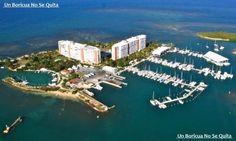 Miren que hermosa la Isleta Marina en Fajardo, Puerto Rico.