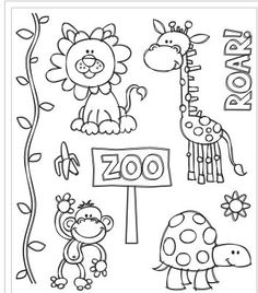 Recollections™ Animals Clear Stamps