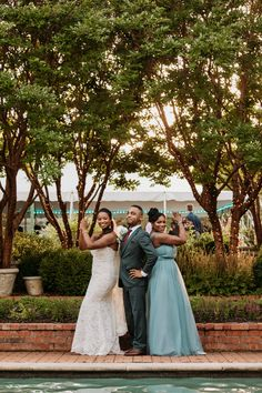 Fun wedding photo of the bride's party. Venue: Clark Gardens in Weatherford, Texas Photo Credit: The Burrow Clark Gardens, Weatherford Texas, The Burrow, Bridesmaid Dresses, Wedding Dresses, Photo Credit, Wedding Photos, Channel, Photoshoot