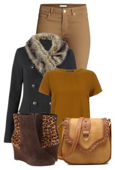 """""""Untitled #8763"""" by nanette-253 ❤ liked on Polyvore featuring H&M, CAbi and Rockport"""