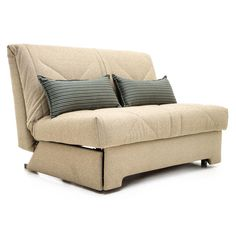 aztec 120cm compact double sofa bed