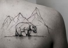 Kamil Mokot bear tattoo