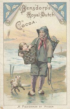 Bensdorp's Royal Dutch Cocoa vintage ad