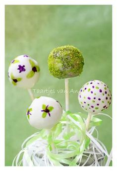 painted cakepops