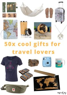 Looking for a special gift for someone who loves to travel? Here's a list of 50x cool gifts for travel lovers! #travelgifts #christmas #mapofjoy North Europe, Antarctica, Travel Gifts, Outdoor Travel, Cool Gifts, Special Gifts, Road Trip, Lovers, Joy