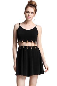 summer dress #ROMWE