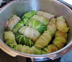 Rollitos de Col China al Vapor Oriental Food, Col China, Comida Keto, Cabbage, Food And Drink, Vegetables, Recipes, Tapas, Wraps