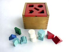 Vintage Creative Playthings Shape Sorting Box — Wary Meyers