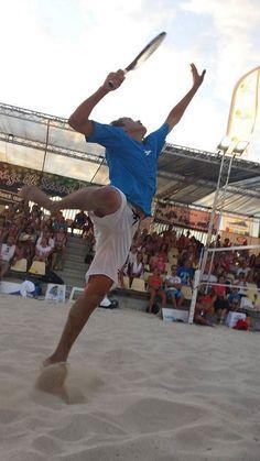 Beach tennis: Número 1 do país, Vini Font se prepara para Camboriú | Top spin - O Globo