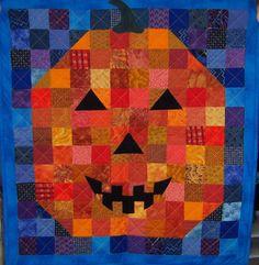 Happy Jack Halloween quilt by Kimberly Einmo