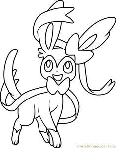 Image Result For Pokemon Sylveon Coloring Pages
