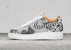 Nike Soho opens up Friday, November 11th with 2 new Nike Air Force 1 NYC Laser pairs featuring exclusive NYC laser etched graphics.